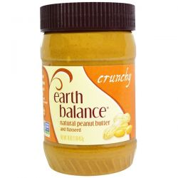 Earth Balance, Natural Peanut Butter and Flaxseed, Crunchy, 16 oz (453 g) Biografie, wspomnienia