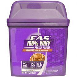 EAS, 100% Whey Protein Protein, Chocolate, 2 lb (907 g) Zdrowie i Uroda
