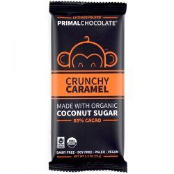 Eating Evolved, PrimalChocolate, Crunchy Caramel 85% Cacao, 2.5 oz (71 g) Zdrowie i Uroda