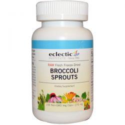 Eclectic Institute, Broccoli Sprouts, 270 mg, 150 Veggie Caps Zdrowie i Uroda