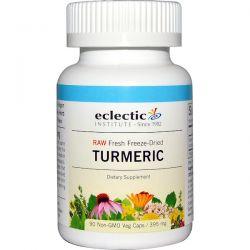 Eclectic Institute, Turmeric, 395 mg, 90 Non-GMO Veggie Caps Zdrowie i Uroda