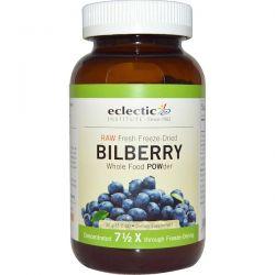 Eclectic Institute, Bilberry, Whole Food  POWder, 3.2 oz (90 g) Zdrowie i Uroda