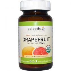 Eclectic Institute, Grapefruit POWder, Raw, 3.2 oz (90 g) Zdrowie i Uroda