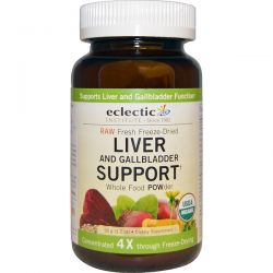 Eclectic Institute, Organic Liver and Gallbladder Support, Whole Food POWder, 3.2 oz (90 g) Zdrowie i Uroda