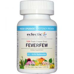 Eclectic Institute, Feverfew, 125 mg, 90 Non-GMO Veggie Caps Zdrowie i Uroda
