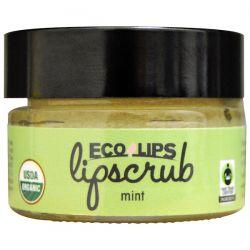 Eco Lips Inc., Organic, Lipscrub, Mint, .5 oz (14.2 g) Biografie, wspomnienia