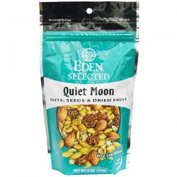 Eden Foods, Selected, Quiet Moon, Nuts, Seeds & Dried Fruit, 4 oz (113 g) Biografie, wspomnienia