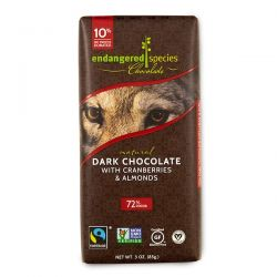 Endangered Species Chocolate, Natural Dark Chocolate with Cranberries & Almonds, 3 oz (85 g) Biografie, wspomnienia