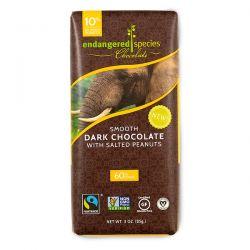 Endangered Species Chocolate, Smooth Dark Chocolate with Salted Peanuts, 3 oz (85 g) Biografie, wspomnienia