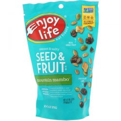 Enjoy Life Foods, Sweet & Salty, Seed & Fruit Mix, Mountain Mambo, 6 oz (170 g) Pozostałe