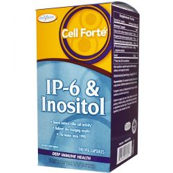 Enzymatic Therapy, Cell Forte, IP-6 & Inositol, Deep Immune Health, 240 Veggie Caps