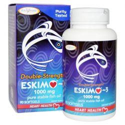 Enzymatic Therapy, Eskimo-3, Double Strength, 1000 mg, 90 Softgels Biografie, wspomnienia