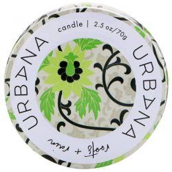 European Soaps, LLC, Urbana, Soy Blend Candle, Roots + Rain, 2.5 oz (70 g) Biografie, wspomnienia
