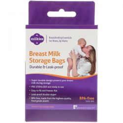 Fairhaven Health, Breast Milk Storage Bags, Durable & Leak-Proof, 50 Storage Bags Biografie, wspomnienia