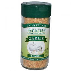 Frontier Natural Products, Garlic, Flakes, 2.64 oz (74 g) Pozostałe