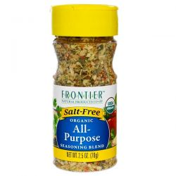 Frontier Natural Products, Organic All-Purpose Seasoning Blend, 2.5 oz (70 g) Pozostałe
