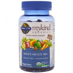 Garden of Life, Mykind Organics, Men's Multi 40+, Organic Berry, 120 Gummy Drops Biografie, wspomnienia