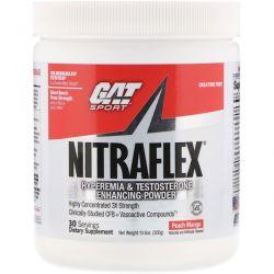 GAT, Nitraflex, Peach Mango, 10.6 oz (300 g) Pozostałe