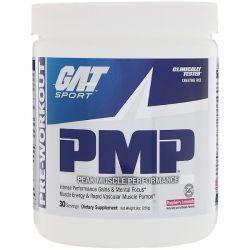 GAT, PMP, Pre-Workout, Peak Muscle Performance, Raspberry Lemonade, 9 oz (255 g)