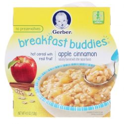 Gerber, Breakfast Buddies, Apple Cinnamon, Toddler, 4.5 oz (128 g) Biografie, wspomnienia