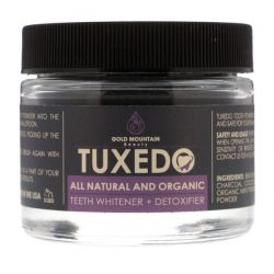 Gold Mountain Beauty, Tuxedo, All Natural and Organic Teeth Whitener + Detoxifier, 32 g Biografie, wspomnienia