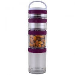 GoStak, Portable Stackable Containers, Plum, Starter 4 Pack Biografie, wspomnienia