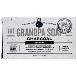 Grandpa's, Face & Body Bar Soap, Detoxify, Charcoal, 4.25 oz (120 g) Biografie, wspomnienia