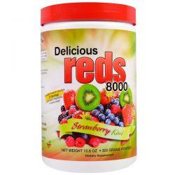 Greens World, Delicious Reds 8000, Strawberry Kiwi, Powder, 10.6 oz (300 g) Biografie, wspomnienia