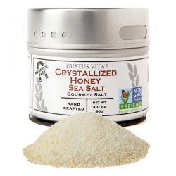 Gustus Vitae, Gourmet Salt, Crystallized Honey Sea Salt, 3 oz (80 g) Pozostałe
