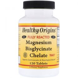 Healthy Origins, Magnesium Bisglycinate Chelate, 120 Tablets Biografie, wspomnienia