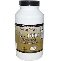Healthy Origins, E-1000, 240 Softgels Pozostałe