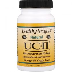 Healthy Origins, Natural, UC-II with Undenatured Type II Collagen, 40 mg, 60 Veggie Caps Biografie, wspomnienia