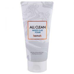 Heimish, All Clean, White Clay Foam, 150 g