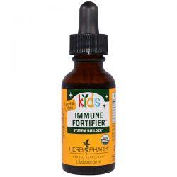 Herb Pharm, Kid's Immune Fortifier System Builder, Alcohol Free, 1 fl oz (30 ml) Biografie, wspomnienia