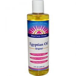 Heritage Store, Egyptian Oil, Original, 8 fl oz (240 ml) Biografie, wspomnienia