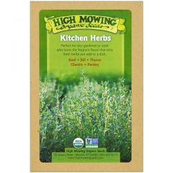 High Mowing Organic Seeds, Kitchen Herbs, Organic Seed Collection, Variety Pack, 5 Packets Biografie, wspomnienia