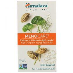 Himalaya, MenoCare, 120 Vegetarian Capsules Biografie, wspomnienia