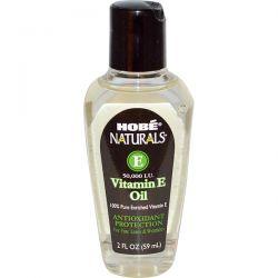 Hobe Labs, Naturals, Vitamin E Oil, 50,000 IU, 2 fl oz (59 ml) Pozostałe