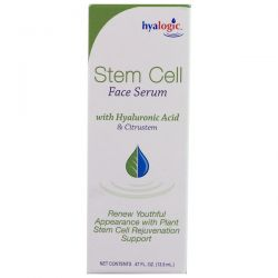 Hyalogic LLC, Stem Cell Face Serum with Hyaluronic Acid & Citrustem, .47 fl oz (13.5 ml) Biografie, wspomnienia