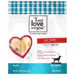 I and Love and You, Ultimate Dog Chews, Ear Candy Beef, 5 Pack, 2.5 oz (70.9 g) Biografie, wspomnienia