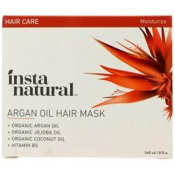 InstaNatural, Argan Oil Hair Mask, 8 fl oz (240 ml) Biografie, wspomnienia