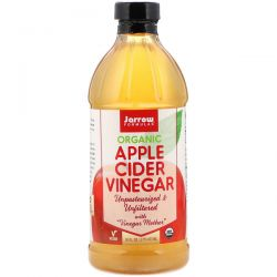 Jarrow Formulas, Organic Apple Cider Vinegar, 16 fl oz (473 ml)