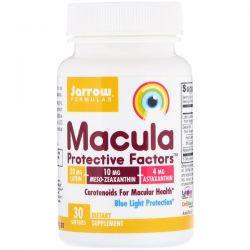 Jarrow Formulas, Macula Protective Factors, 30 Softgels Pozostałe
