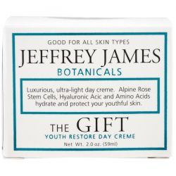 Jeffrey James Botanicals, The Gift, Youth Restore Day Creme, 2.0 oz (59 ml) Pozostałe