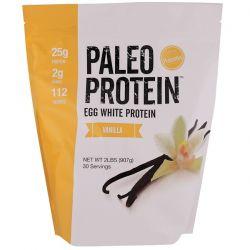 Julian Bakery, Paleo Protein, Egg White Protein, Vanilla, 2 lbs (907 g) Biografie, wspomnienia