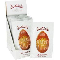 Justin's Nut Butter, Maple Almond Butter, 10 Squeeze Packs, 1.15 oz (32 g) Each Biografie, wspomnienia