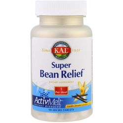 KAL, Super Bean Relief, Vanilla Dream, 90 Micro Tablets Pozostałe