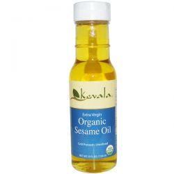 Kevala, Extra Virgin Organic Sesame Oil, 8 fl oz (236 ml) Biografie, wspomnienia
