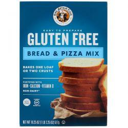 King Arthur Flour, Gluten Free, Bread & Pizza Mix, 18.25 oz (517 g)