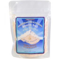 Klamath, Mineral Mountain Krystal Salt, 17.6 oz (500 g) Pozostałe